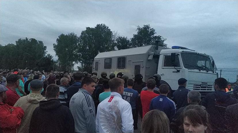 Глава Пензенской области заявил о стабилизации ситуации в Чемодановке