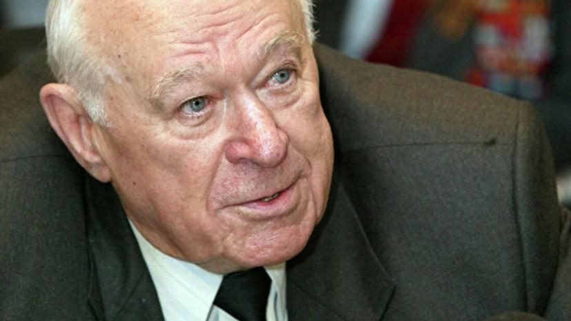 Немоляева прокомментировала сообщение о смерти бывшего первого зампреда КГБ СССР Бобкова
