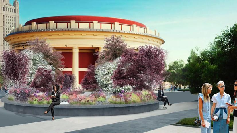 В Москве начали монтировать летние сады по проектам финалистов конкурса «Цветочный джем»
