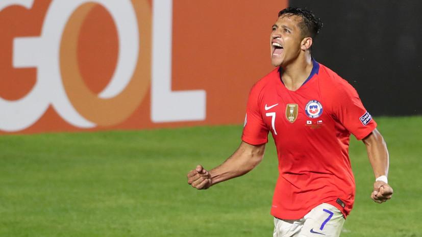 Сборная Чили разгромила Японию в матче Кубка Америки — 2019