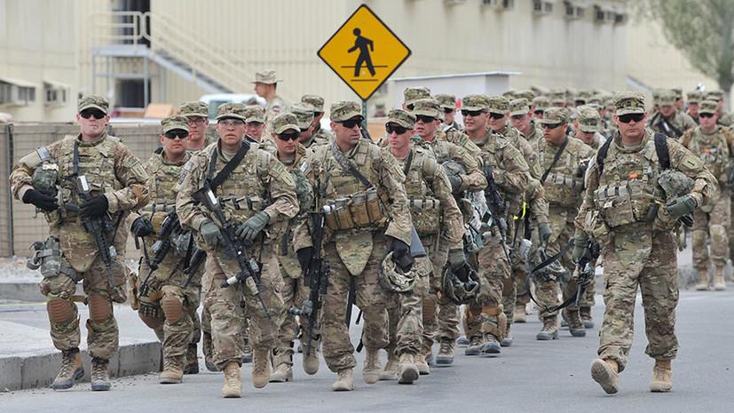 Пентагон одобрил отправку дополнительных военных сил на Ближний Восток