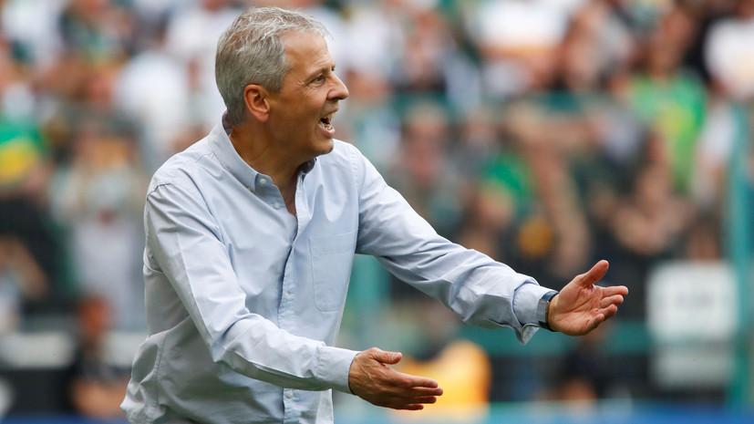 Дортмундская «Боруссия» продлила контракт с главным тренером Фавром
