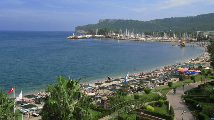 Названы самые популярные у россиян курорты Турции