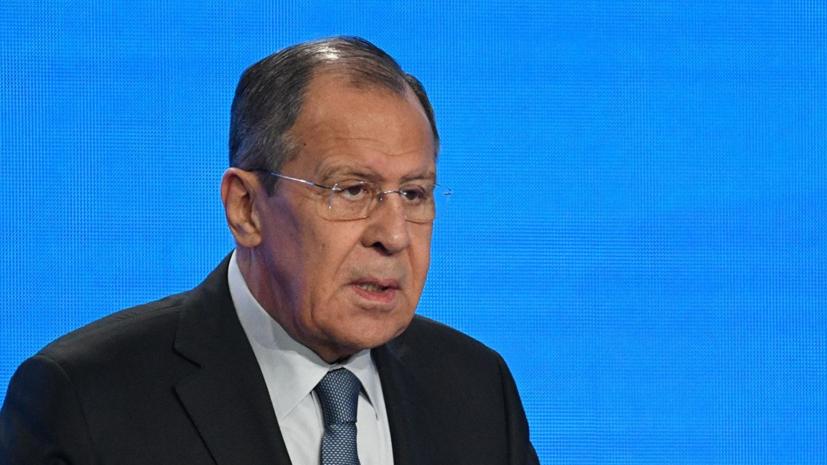 Лавров прокомментировал инцидент с танкерами в Оманском заливе