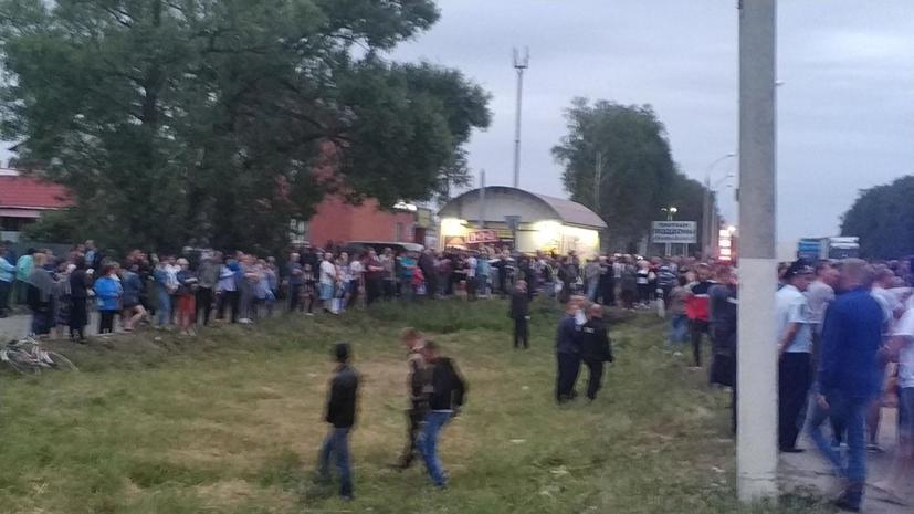 Власти сообщили, что ситуация в Чемодановке находится под контролем