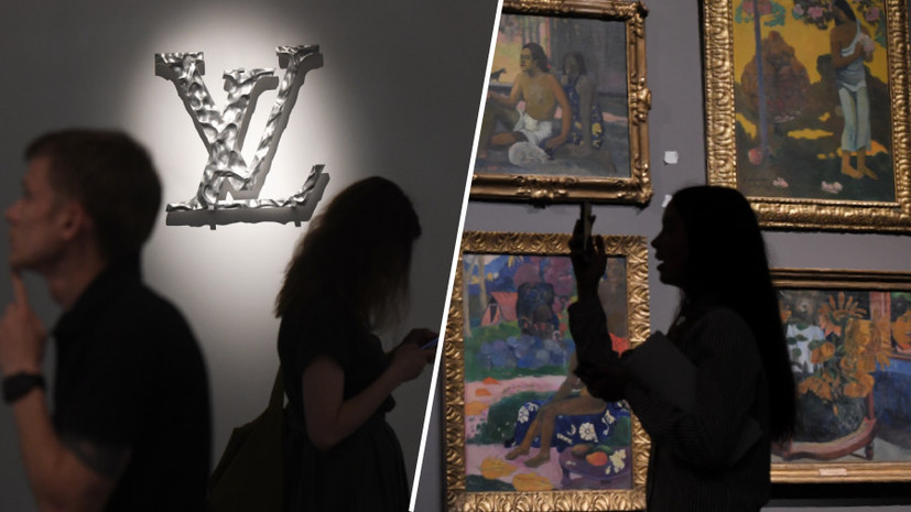 """ba50ebfba6 The Pride of French and Russian Culture"""": in the Pushkin Museum ..."""