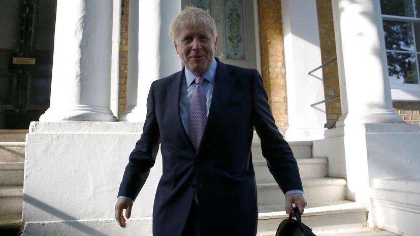 Джонсон увеличил отрыв в борьбе за пост премьера Великобритании