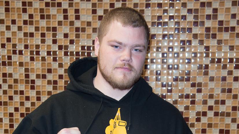 Соперник Гассиева заявил, что считает себя боксёром чемпионского уровня