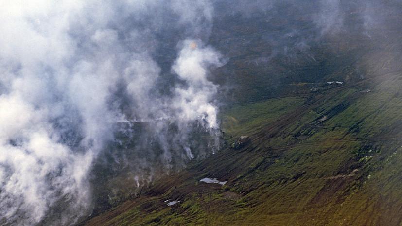 Площадь пожаров на севере Камчатки превысила 11 тысяч гектаров