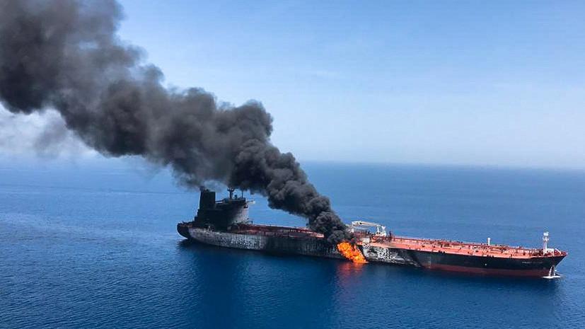 В США сравнили применённый в Оманском заливе боеприпас с минами Ирана