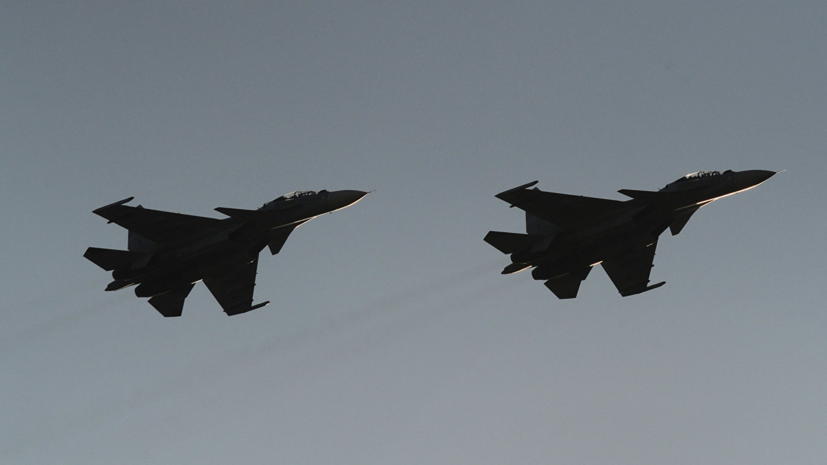 Морская авиация ЧФ проводит боевые учения в Крыму