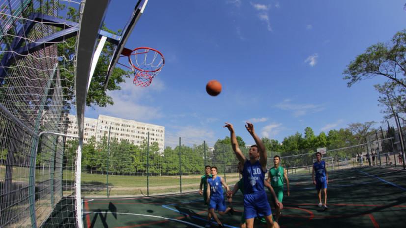 Проект «Спорт в каждый двор» стартует 21 июня в Севастополе