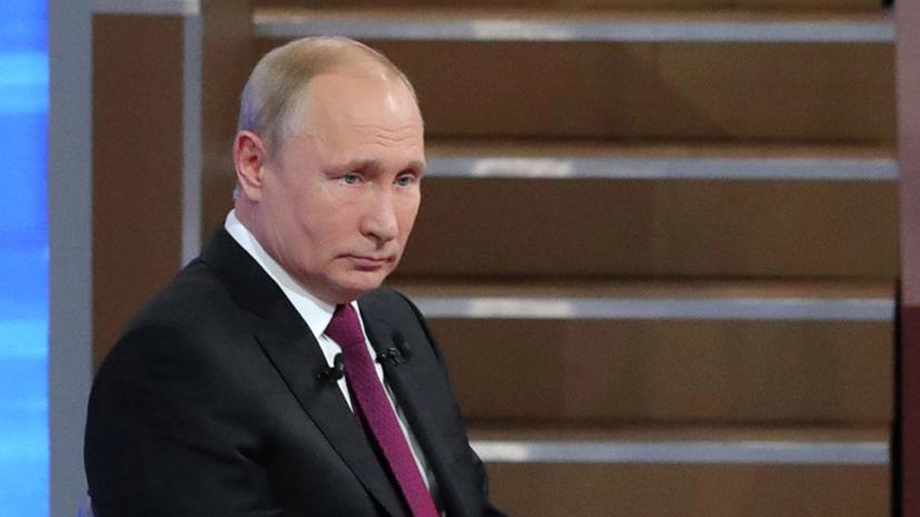 Путин сравнил потери Запада и России от санкций