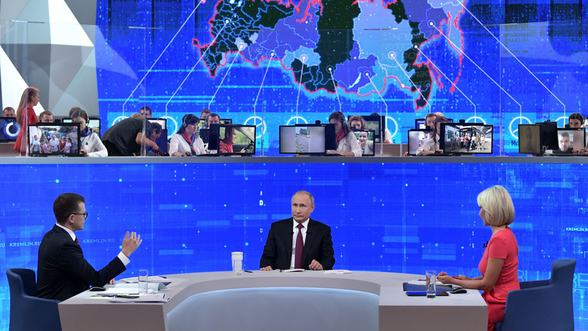 Путин рассказал о работе над нацпроектами