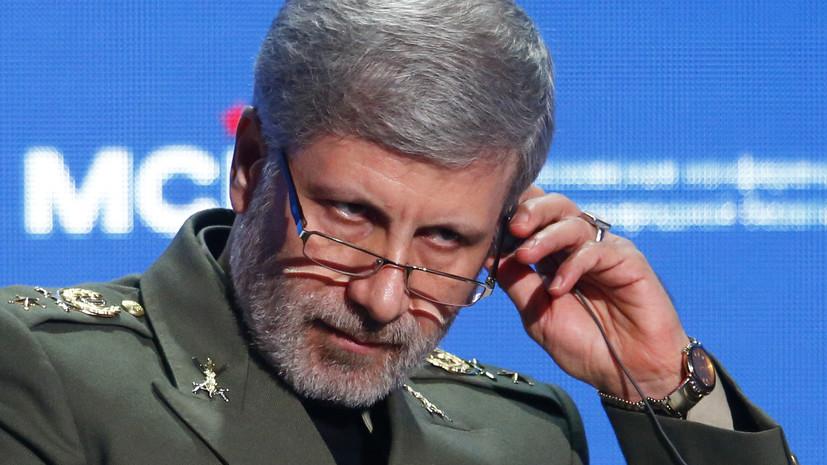 В Минобороны Ирана считают инцидент с БПЛА США попыткой давления