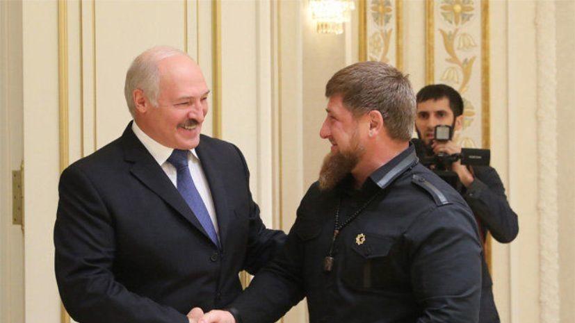 Лукашенко рассказал Кадырову о мечте посетить горы Кавказа «без помпы»