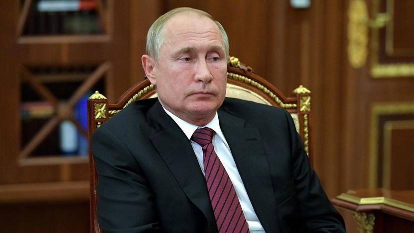 Путин запретил российским авиакомпаниям летать в Грузию с 8 июля