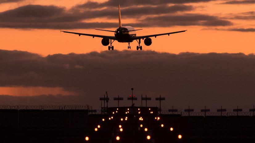 Песков назвал приостановку авиасообщения с Грузией вынужденной мерой