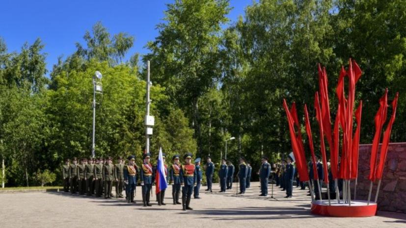 В Пскове прошли мероприятия, посвящённые Дню памяти и скорби
