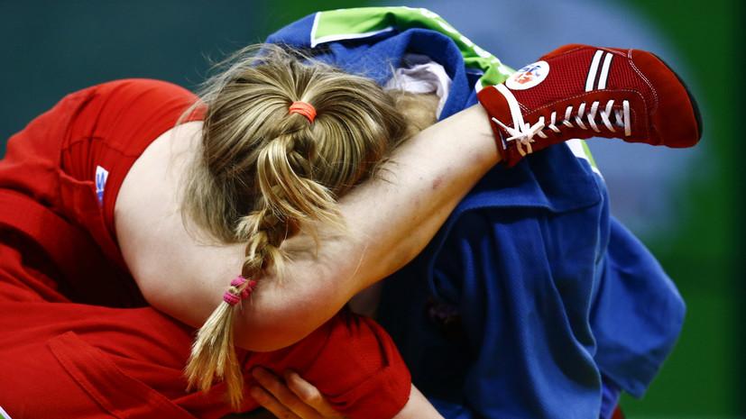Самбистка Казенюк завоевала золото Европейских игр в весовой категории до 56 кг