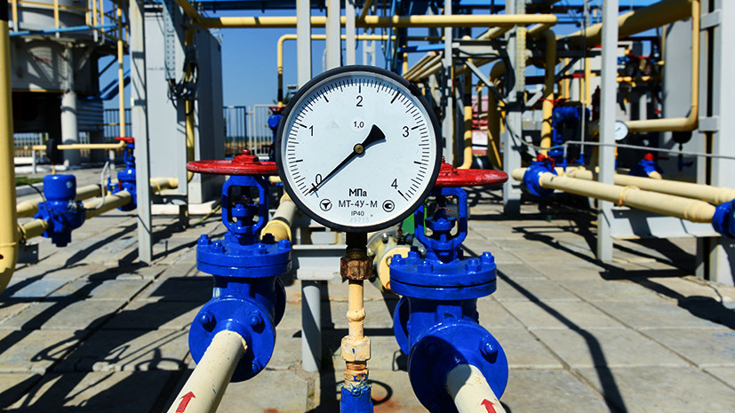 Пустые хранилища: на Украине заявили о критическом дефиците газа