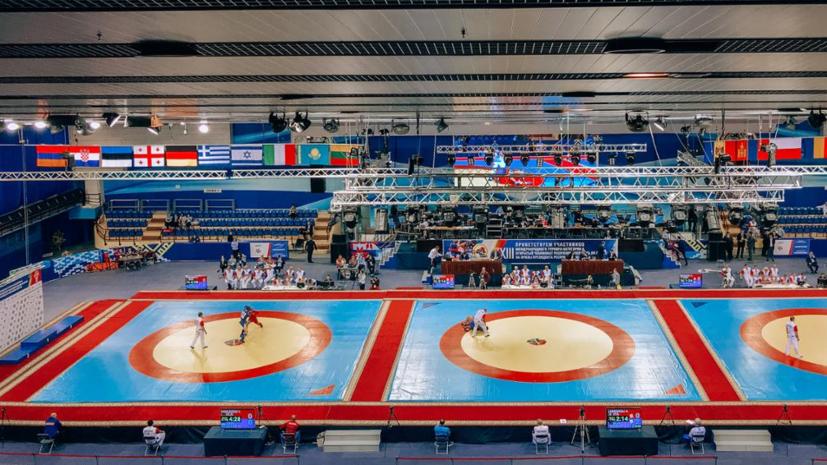Самбистка Рябова завоевала золото на ЕИ-2019