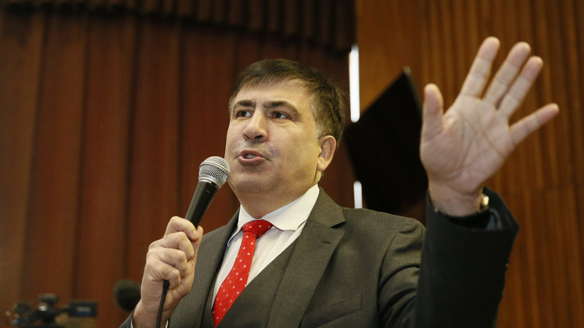 Саакашвили обвинил Порошенко в недопуске своей партии на выборы в Раду