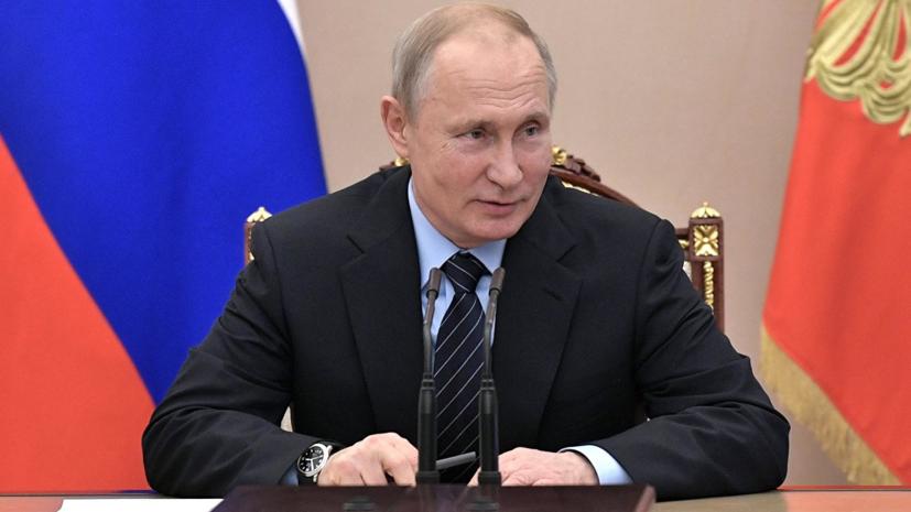 Путин рассказал о выручке от российского военного экспорта