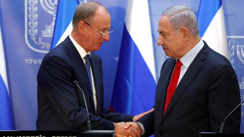 Патрушев и Нетаньяху обсудили антитеррор