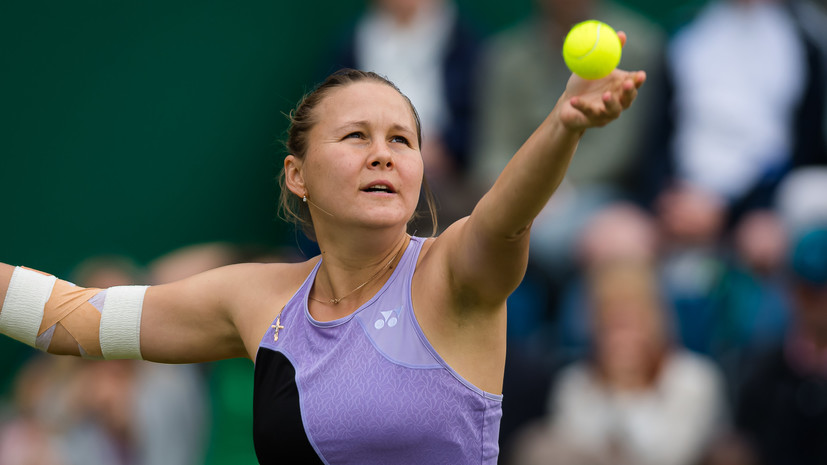 Россиянка Родина не смогла выйти во второй круг турнира WTA в Истбурне