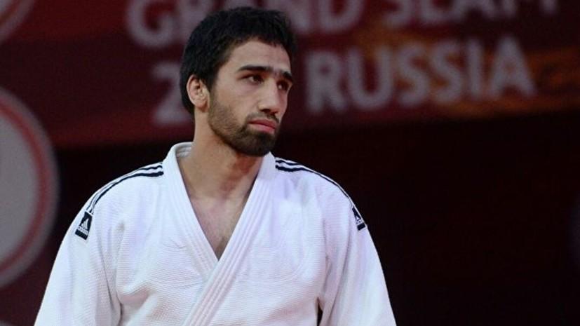 Российский дзюдоист Халмурзаев выиграл бронзу Европейских игр в категории до 90 кг