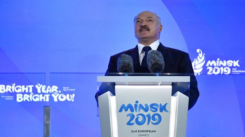 Путин посетит церемонию закрытия Европейских игр