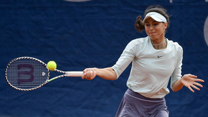 Вихлянцева победила в первом раунде квалификации Уимблдона