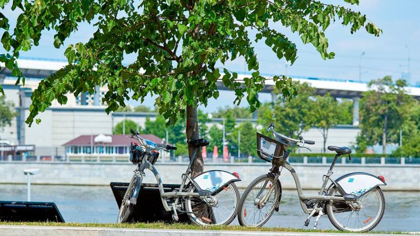 В Москве за два месяца на городских велосипедах совершено 2 млн поездок
