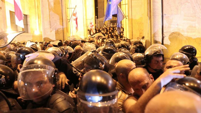 В Тбилиси освободили ещё 55 задержанных в ходе протестов