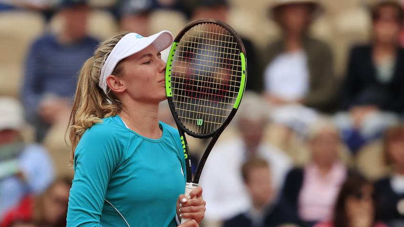 Александрова обыграла Бенчич и вышла в третий круг турнира WTA в Истбурне