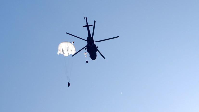 В Крыму при парашютировании утонули два военнослужащих по контракту