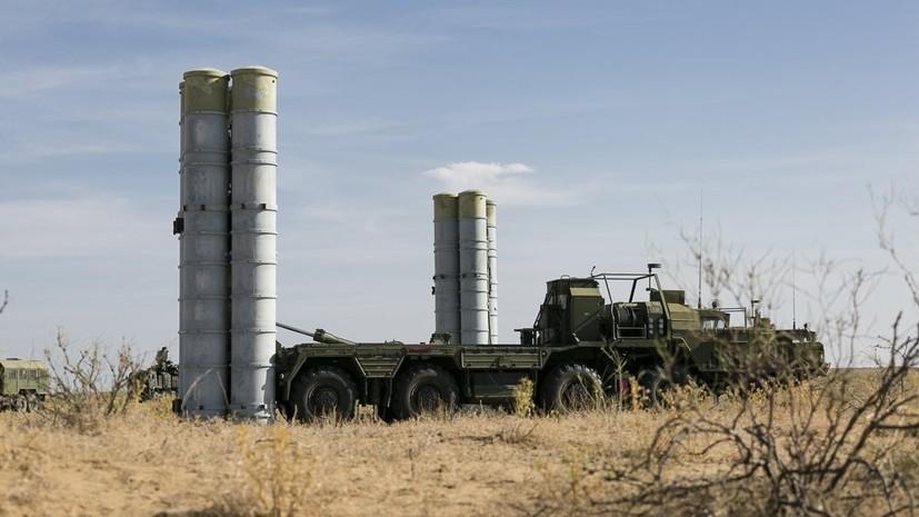 Россия поставит Турции первые С-400 в июле