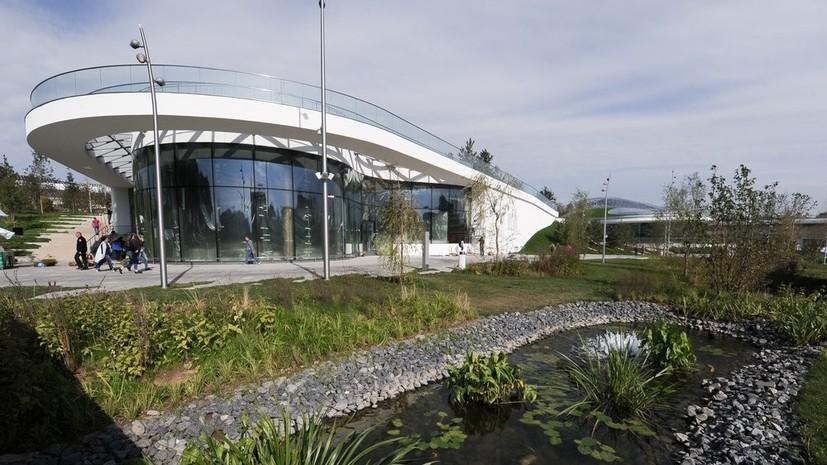 Парк «Зарядье» принял более 19 млн посетителей с момента открытия