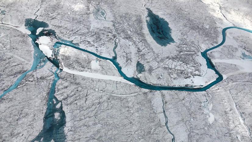 Неисследованный мир: под ледяным покровом Гренландии обнаружены более 50 озёр