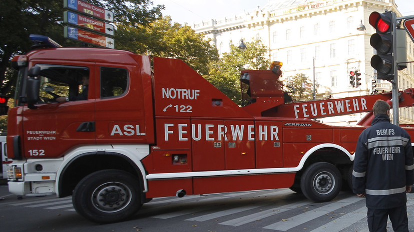 В Вене произошёл взрыв в жилом доме