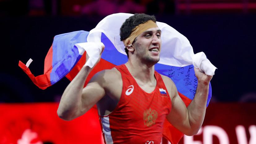Борец вольного стиля Сидаков стал чемпионом Европейских игр в категории до 74 кг