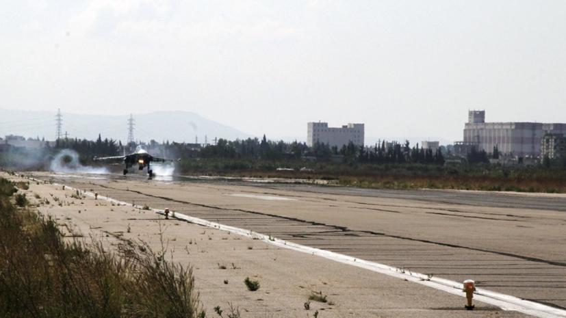 В ЦПВС заявили о попытке атаки боевиками авиабазы Хмеймим