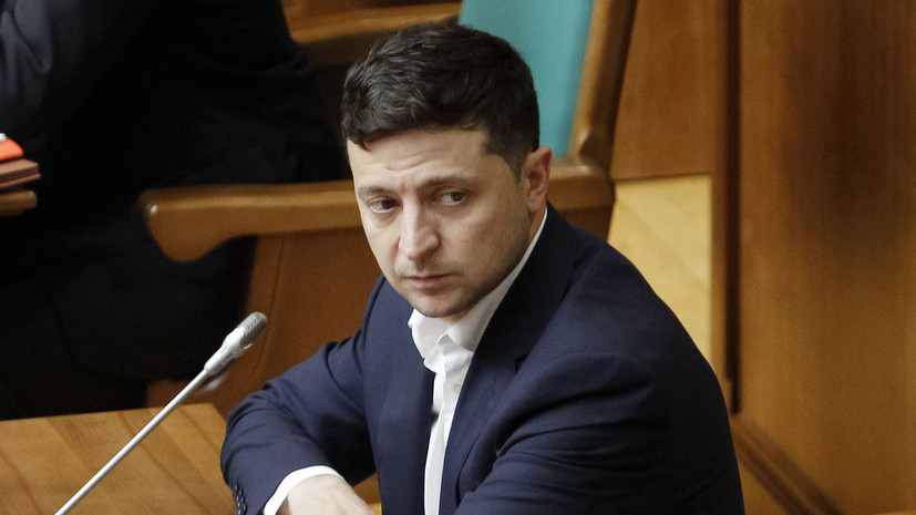 Зеленский внёс в Раду проект о снижении цен на электроэнергию