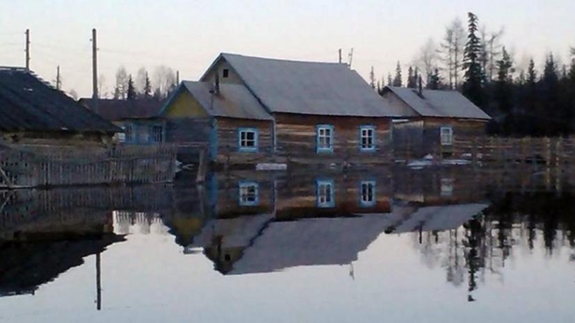В Иркутской области в результате паводка подтоплены почти 600 домов
