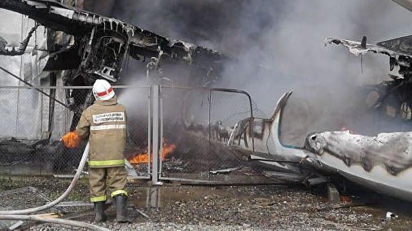 После крушения Ан-24 в Бурятии в больницу доставлены 14 человек