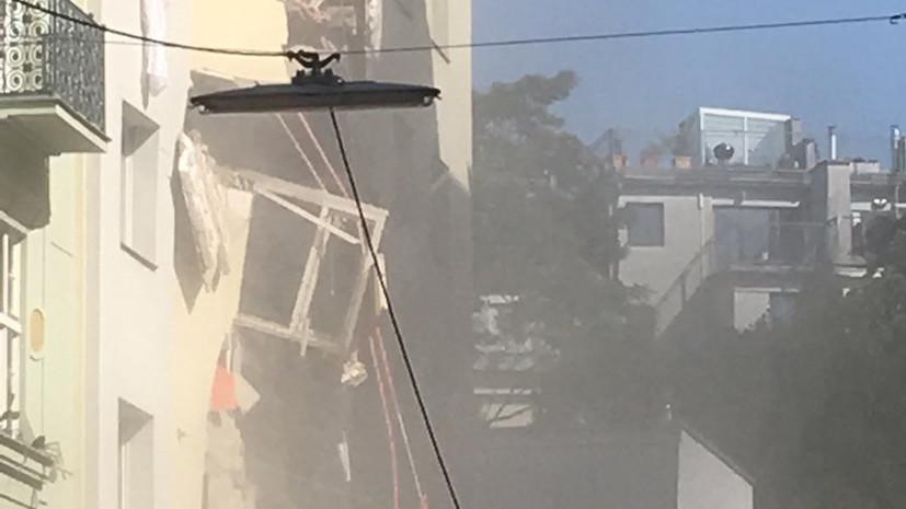 Число пострадавших при взрыве газа в доме в Вене возросло до 14