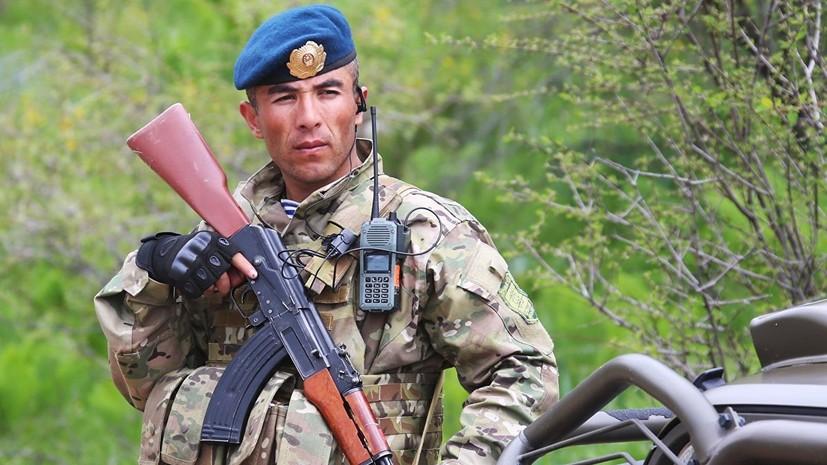 Россия поможет укрепить армию Таджикистана