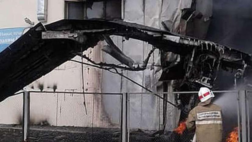 В авиакомпании рассказали о лётном стаже погибших членов экипажа Ан-24