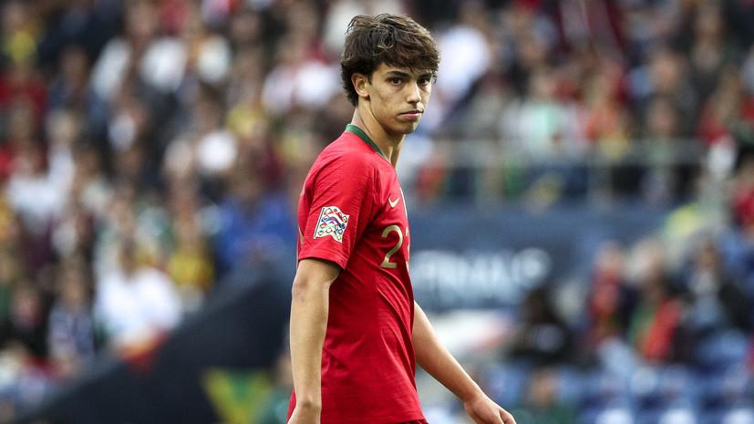 Футболист «Бенфики» Фелиш перейдёт в «Атлетико» за €126 млн